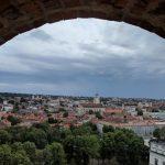 ビリニュス ケディミナス城からの眺め